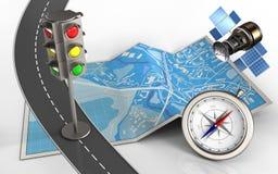 τρισδιάστατος δρόμος Στοκ φωτογραφία με δικαίωμα ελεύθερης χρήσης
