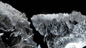 τρισδιάστατος δώστε του κοσμικού τοπίου ως υπόβαθρο ή περιβάλλον Πλανήτης από τη διαστημική άποψη από το διαστημικό σκάφος πολύ λ ελεύθερη απεικόνιση δικαιώματος