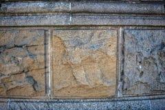 τρισδιάστατος εννοιολογικός μοναδικός τοίχος εικόνας κύβων Στοκ Φωτογραφίες