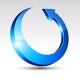 τρισδιάστατος κύκλος β&ep ελεύθερη απεικόνιση δικαιώματος