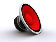 τρισδιάστατος ομιλητής διανυσματική απεικόνιση