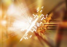 τρισδιάστατος χρυσός επ&a διανυσματική απεικόνιση