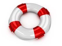 τρισδιάστατος lifebuoy Στοκ εικόνα με δικαίωμα ελεύθερης χρήσης