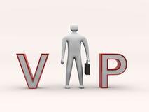 τρισδιάστατος VIP κειμένων &alp Στοκ Εικόνες