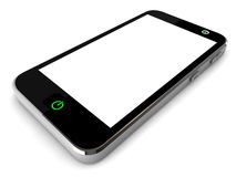 τρισδιάστατο έξυπνο τηλέφωνο Στοκ Φωτογραφίες