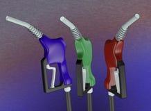 τρισδιάστατο αέριο nozle ελεύθερη απεικόνιση δικαιώματος