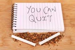 τρισδιάστατο αντι εγκαταλειμμένο εικόνα κάπνισμα Στοκ Φωτογραφίες