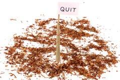τρισδιάστατο αντι εγκαταλειμμένο εικόνα κάπνισμα Στοκ Εικόνες
