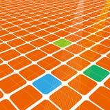 τρισδιάστατο αφηρημένο δίκτυο άπειρο στοκ εικόνα με δικαίωμα ελεύθερης χρήσης