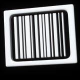 τρισδιάστατο αφηρημένο εικονίδιο κώδικα ράβδων στοκ φωτογραφία με δικαίωμα ελεύθερης χρήσης
