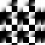 τρισδιάστατο αφηρημένο checkerboard Στοκ Εικόνα
