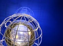 τρισδιάστατο γήινο δίκτυο Στοκ φωτογραφίες με δικαίωμα ελεύθερης χρήσης