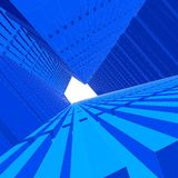 τρισδιάστατο διάνυσμα city6 απεικόνιση αποθεμάτων