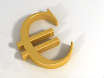 τρισδιάστατο ευρώ Στοκ φωτογραφία με δικαίωμα ελεύθερης χρήσης
