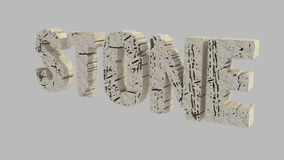 τρισδιάστατο κείμενο πε&t Στοκ Φωτογραφίες