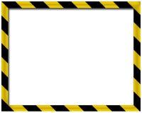 τρισδιάστατο κενό πλαίσιο Στοκ εικόνα με δικαίωμα ελεύθερης χρήσης