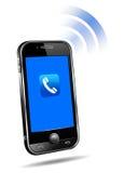 τρισδιάστατο κινητό τηλε&ph Στοκ Φωτογραφίες