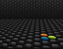 τρισδιάστατο κυψελωτό π&la απεικόνιση αποθεμάτων
