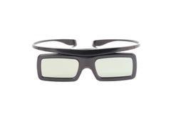 τρισδιάστατο λευκό γυαλιών ανασκόπησης Στοκ φωτογραφία με δικαίωμα ελεύθερης χρήσης