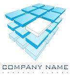 τρισδιάστατο λογότυπο επιχείρησης απεικόνιση αποθεμάτων