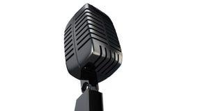 τρισδιάστατο μικρόφωνο Στοκ εικόνα με δικαίωμα ελεύθερης χρήσης