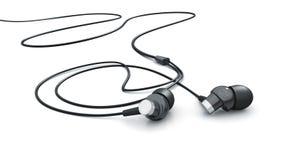 τρισδιάστατο μοντέλο ακουστικών Στοκ Φωτογραφίες
