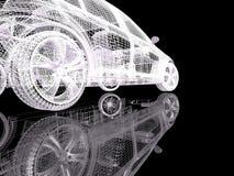 τρισδιάστατο μοντέλο αυ&t διανυσματική απεικόνιση