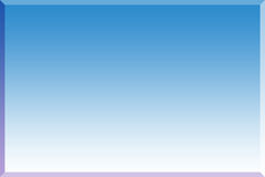 τρισδιάστατο μπλε ανασκό Στοκ Φωτογραφία