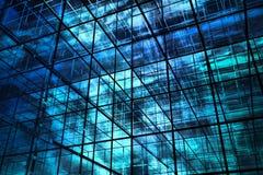 τρισδιάστατο μπλε ανασκό Στοκ Εικόνες
