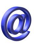 τρισδιάστατο μπλε Στοκ εικόνες με δικαίωμα ελεύθερης χρήσης