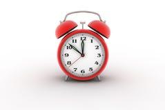 τρισδιάστατο ρολόι συνα&g Στοκ Εικόνες
