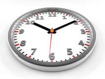 τρισδιάστατο ρολόι Στοκ φωτογραφίες με δικαίωμα ελεύθερης χρήσης