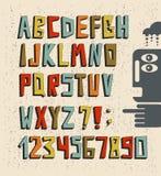 τρισδιάστατο συμένος αλφάβητου υπό εξέταση σκαλί Στοκ εικόνα με δικαίωμα ελεύθερης χρήσης