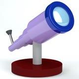 τρισδιάστατο τηλεσκόπι&omicro ελεύθερη απεικόνιση δικαιώματος