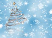 τρισδιάστατο χριστουγεννιάτικο δέντρο ελεύθερη απεικόνιση δικαιώματος