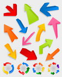τρισδιάστατο arrow2 Στοκ εικόνα με δικαίωμα ελεύθερης χρήσης