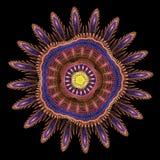 τρισδιάστατο fractal λουλουδιών δίνει Στοκ Φωτογραφία