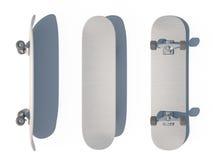 τρισδιάστατο skateboard CG Διανυσματική απεικόνιση
