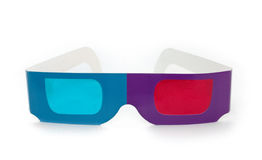τρισδιάστατα γυαλιά Στοκ εικόνες με δικαίωμα ελεύθερης χρήσης