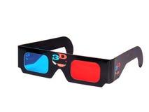 τρισδιάστατα γυαλιά Στοκ φωτογραφία με δικαίωμα ελεύθερης χρήσης