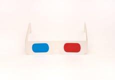 Τρισδιάστατα γυαλιά ανάγλυφων Στοκ Εικόνες