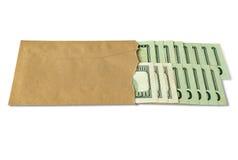 τρισδιάστατα επιχειρησιακά δολάρια πολλά αντικείμενο Στοκ εικόνα με δικαίωμα ελεύθερης χρήσης