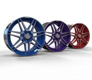 τρισδιάστατα πλαίσια αυτοκινήτων χρώματος απεικόνισης ελεύθερη απεικόνιση δικαιώματος