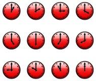 τρισδιάστατα ρολόγια Στοκ Φωτογραφίες