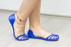 τρισδιάστατα τυπωμένα παπούτσια Στοκ φωτογραφία με δικαίωμα ελεύθερης χρήσης