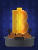 τρισδιάστατα χρωματισμένα νομίσματος υψηλά απεικόνισης σύμβολα ανάλυσης εικόνας πολυ Στοκ φωτογραφία με δικαίωμα ελεύθερης χρήσης