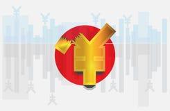 τρισδιάστατα χρωματισμένα νομίσματος υψηλά απεικόνισης σύμβολα ανάλυσης εικόνας πολυ Στοκ Εικόνες