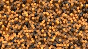 τρισδιάστατα hexagons υποβάθρου Στοκ φωτογραφίες με δικαίωμα ελεύθερης χρήσης