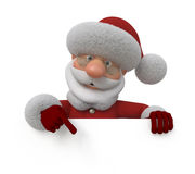 τρισδιάστατες διακοπές Χριστουγέννων Στοκ Εικόνα