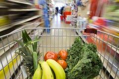 τρισδιάστατες παραγμένες κάρρο αγορές εικόνας Στοκ εικόνα με δικαίωμα ελεύθερης χρήσης